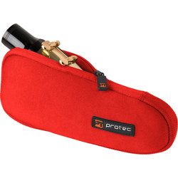 Protec Baritone Saxophone Mouthpiece Pouch - 1 Piece, Red