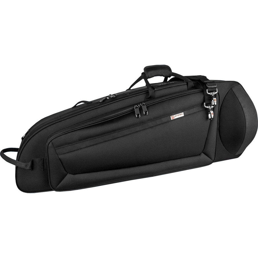 View larger image of Protec Bass Trombone IPAC Case - Contoured, Black