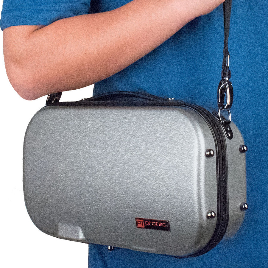 View larger image of Protec Bb Clarinet Micro ZIP Case - Silver