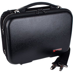 Protec Bb Clarinet ZIP Case with Removable Music Pocket - Black