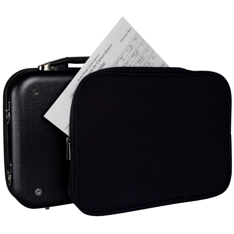 View larger image of Protec Bb Clarinet ZIP Case with Removable Music Pocket - Black
