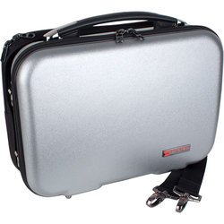 Protec Bb Clarinet ZIP Case with Removable Music Pocket - Sliver