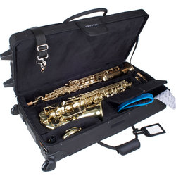 Protec Combination PRO PAC Case with Wheels for Alto/Soprano Saxophone