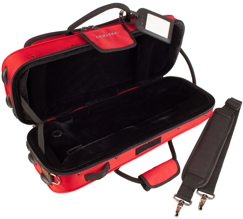 View larger image of Protec Contoured Trumpet PRO PAC Case - Red