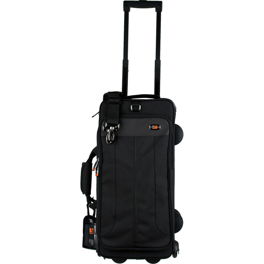 View larger image of Protec IP301D Ipac Double Trumpet Case with Wheels