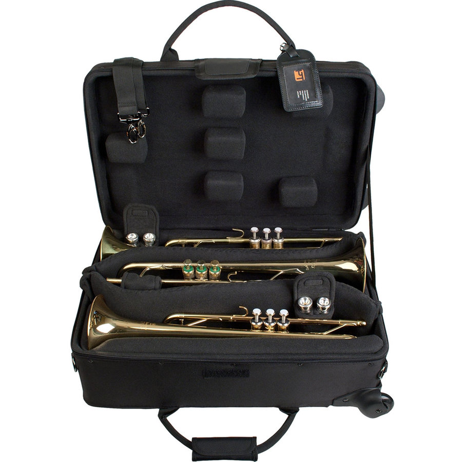 View larger image of Protec IP301TWL IPAC Triple Trumpet Case