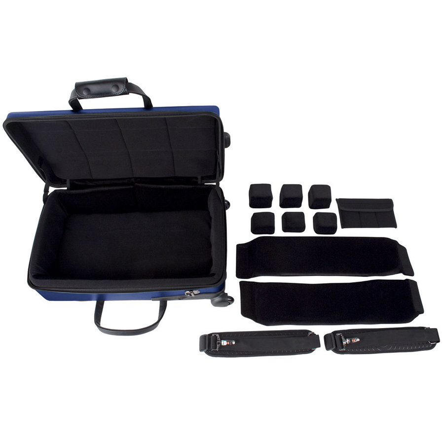 View larger image of Protec Single/Double/Triple Horn ZIP Case - Blue