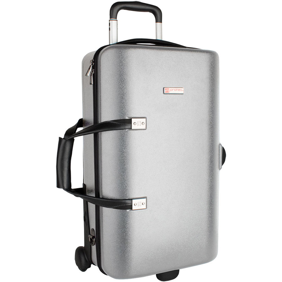 View larger image of Protec Single/Double/Triple Horn ZIP Case - Silver