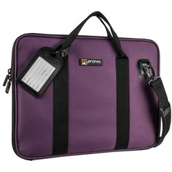 Protec Slim Portfolio Bag - Purple
