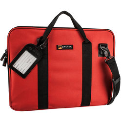 Protec Slim Portfolio Bag - Red