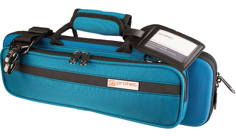 View larger image of Protec Slimline PRO PAC Flute Case - Teal Blue