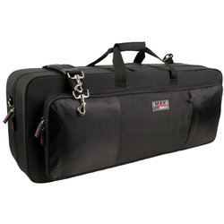 Protec Tenor Saxophone Max Case - Rectangular, Black