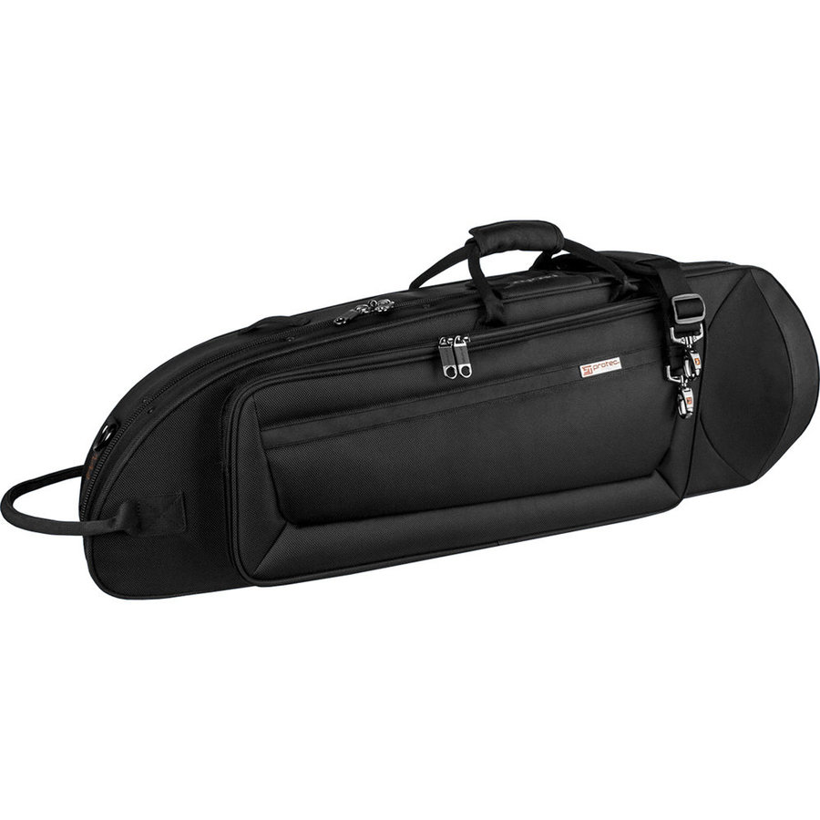 View larger image of Protec Tenor Trombone with F-Attachment IPAC Case - Black