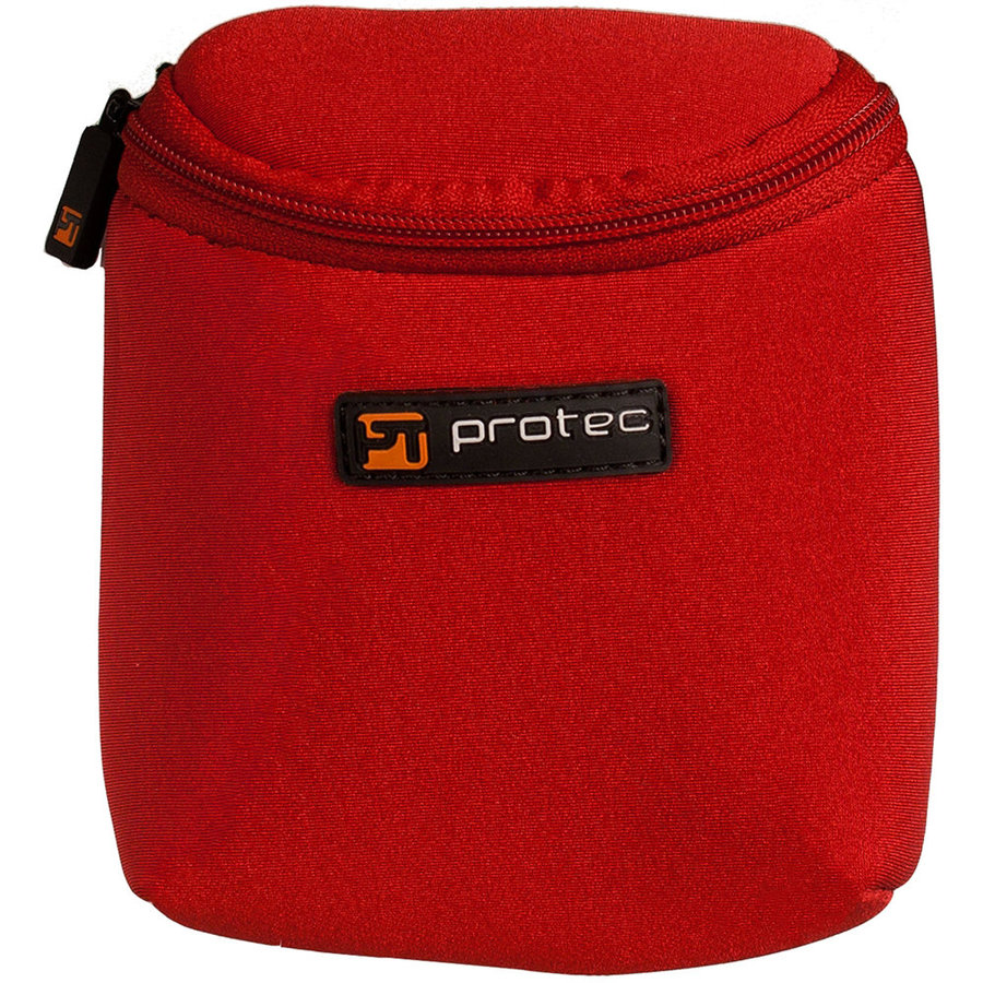 View larger image of Protec Trombone/Clarinet/Alto Saxophone Mouthpiece Pouch – 3 Piece, Red