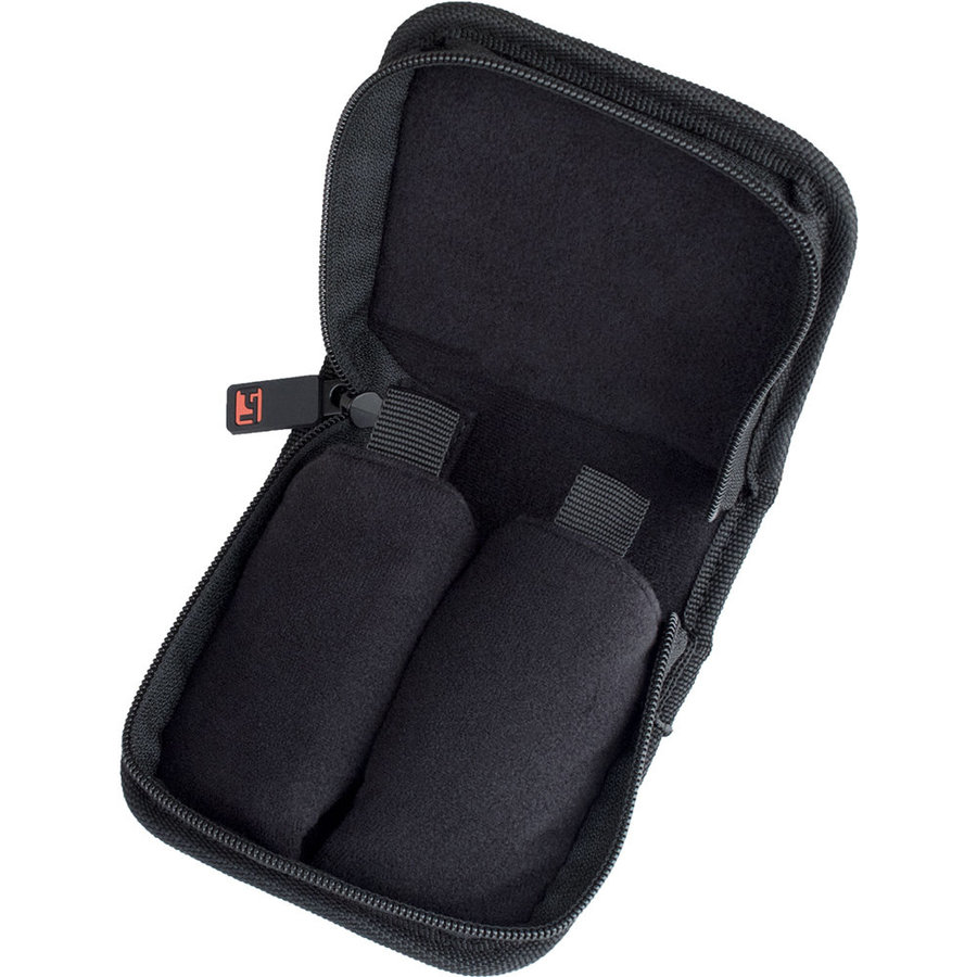 View larger image of Protec Trombone Mouthpiece Pouch  with Zipper Closure - 2 Pieces, Black