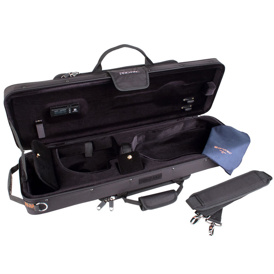 View larger image of Protec Violin 4/4 PRO PAC Case – Travel Light, Black
