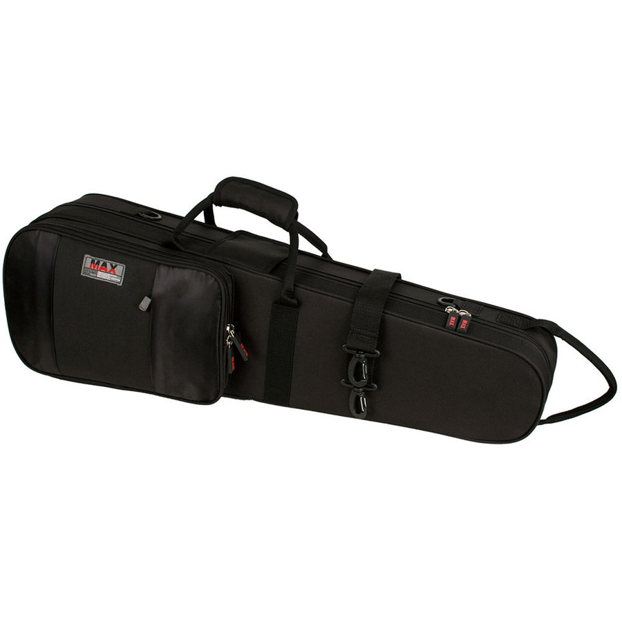 View larger image of Protec Violin MAX Case - Shaped, Black
