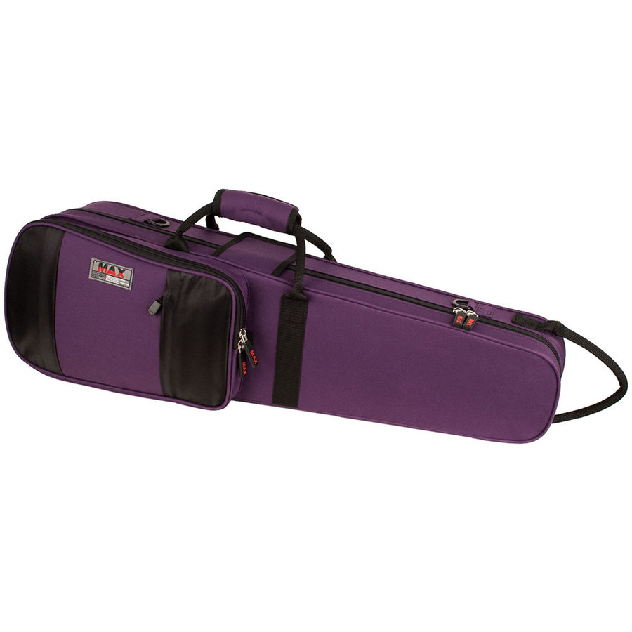 View larger image of Protec Violin MAX Case - Shaped, Purple