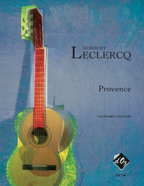View larger image of Provence (Leclercq) - Guitar Quartet