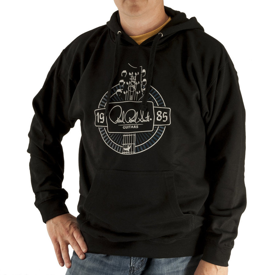 View larger image of PRS 1985 Headstock Logo Pullover Hoodie - Black, Large