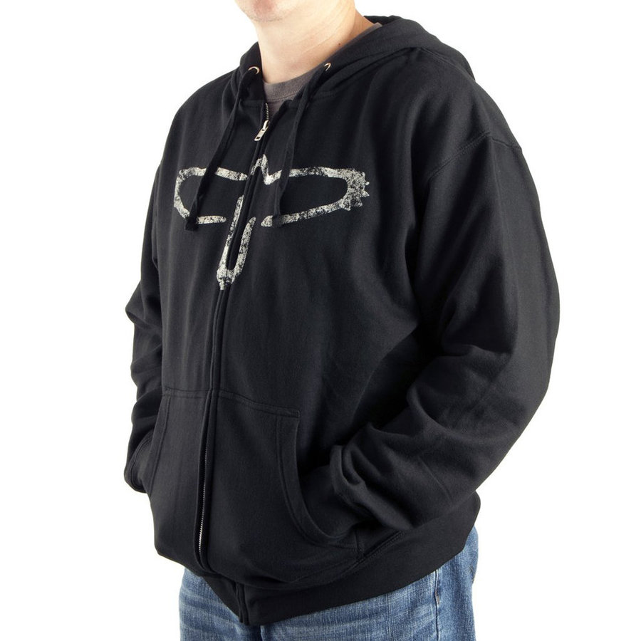 View larger image of PRS Bird Silhouette Hoodie - Black, Small