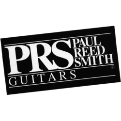 PRS Black Logo Sticker