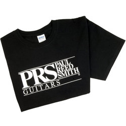 PRS Black Logo T-Shirt - Black, Small