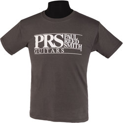 PRS Block Logo T-Shirt - Gray, Children's Medium