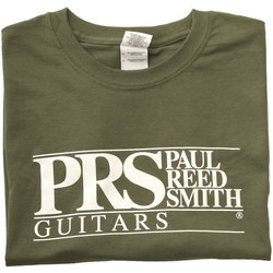PRS Block Logo T-Shirt - Military Green, Medium