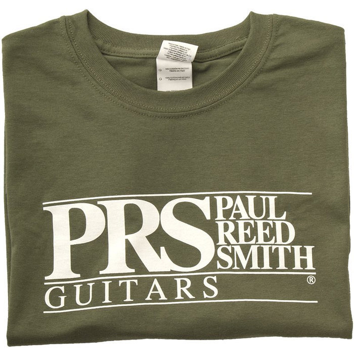 View larger image of PRS Block Logo T-Shirt - Military Green, Small