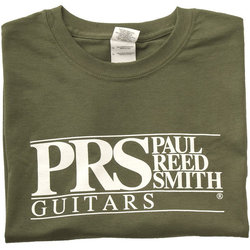 PRS Block Logo T-Shirt - Military Green, XXL