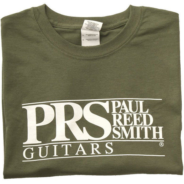View larger image of PRS Block Logo T-Shirt - Military Green, XXXXL
