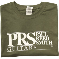 PRS Block Logo T-Shirt - Military Green, XXXXL