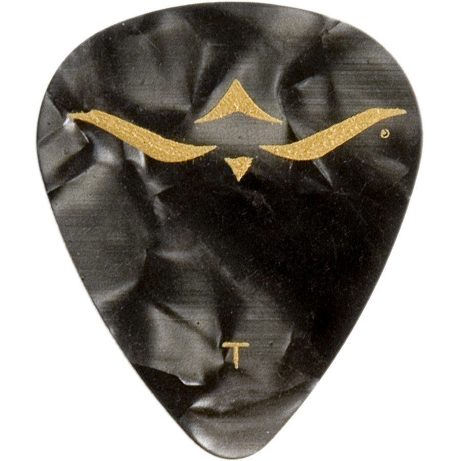 View larger image of PRS Celluloid Guitar Picks - Thin, Black Pearloid, 12 Pack
