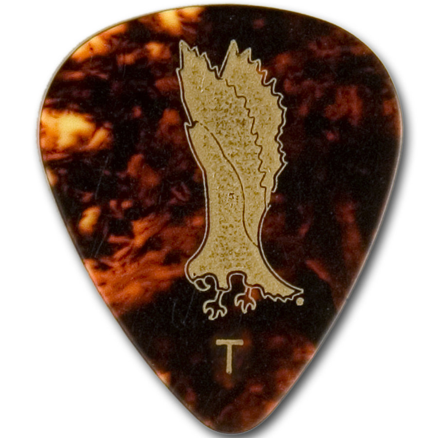 View larger image of PRS Classic Tortoise Shell Picks - Thin, 12 Pack