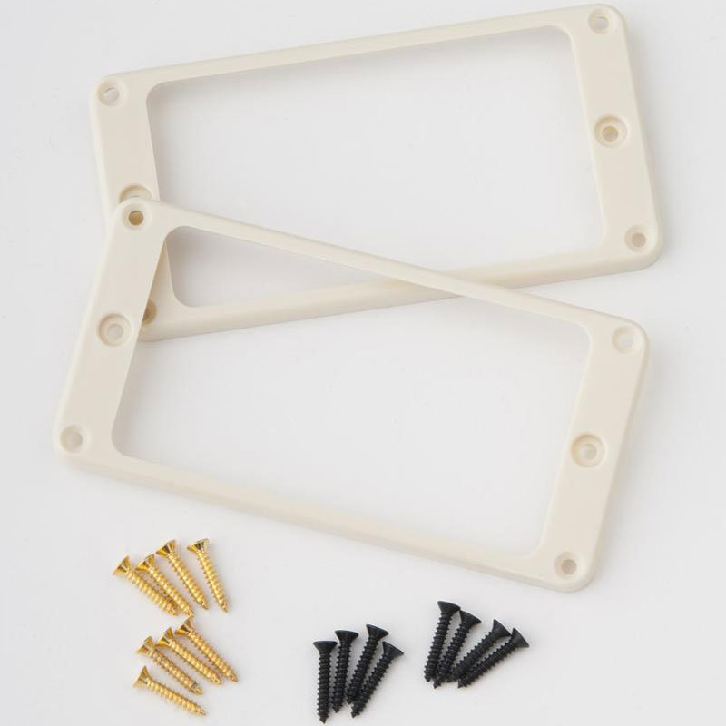 View larger image of PRS Humbucker Pickup Rings - Straight, Creme, 2 Pack