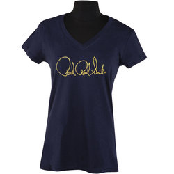 PRS Siganture Logo T-Shirt - Navy Blue, Women's Large