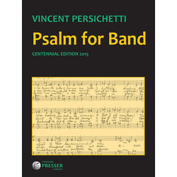 Psalm for Band Op. 53 - Score & Parts, Grade 5