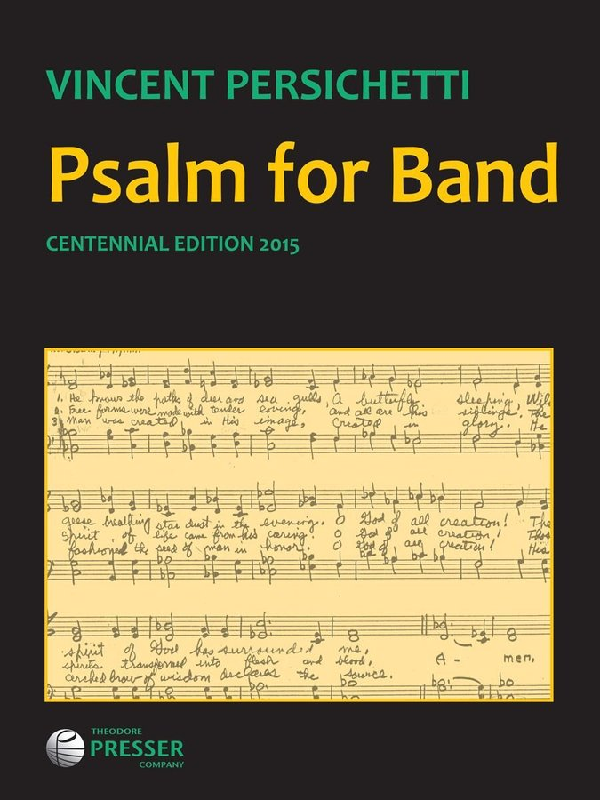 View larger image of Psalm for Band Opus.53 - Score, Grade 5