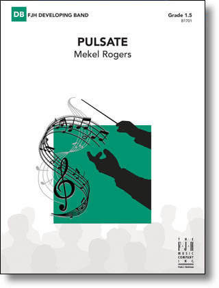 View larger image of Pulsate - Score & Parts, Grade 1.5
