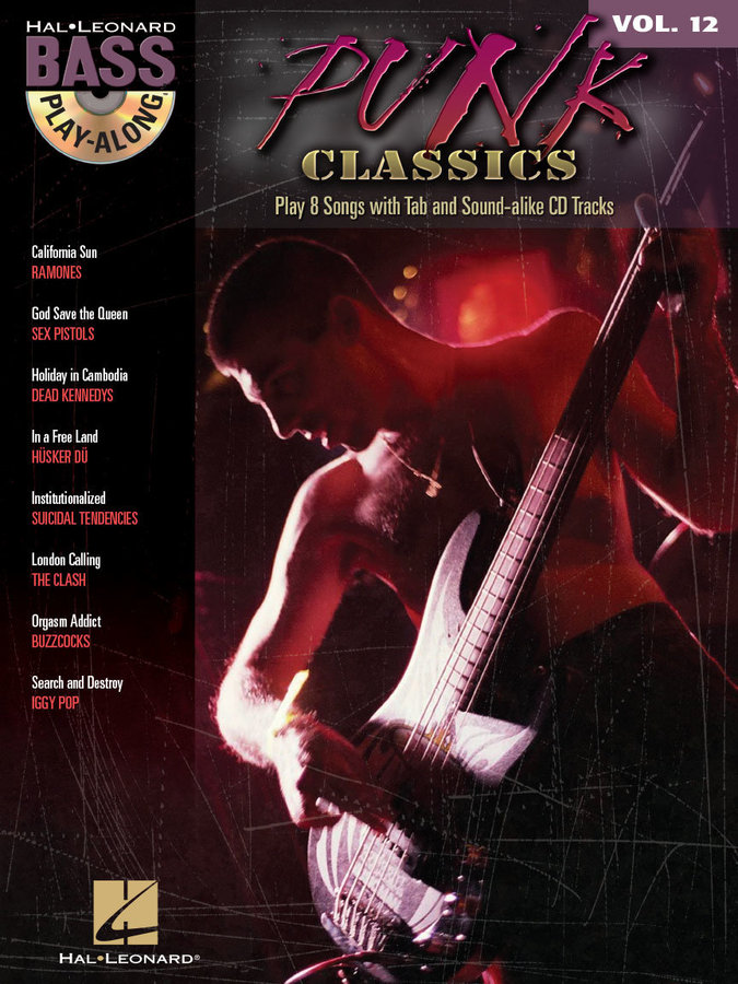 View larger image of Punk Classics - Bass Play-Along Volume 12 w/CD