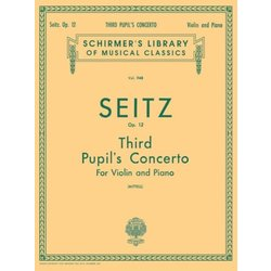 Pupil's Concerto No.3 in G Minor, Op.12 (Seitz) - Violin