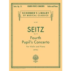 Pupil's Concerto No.4 in D Op.15 (Seitz) - Violin