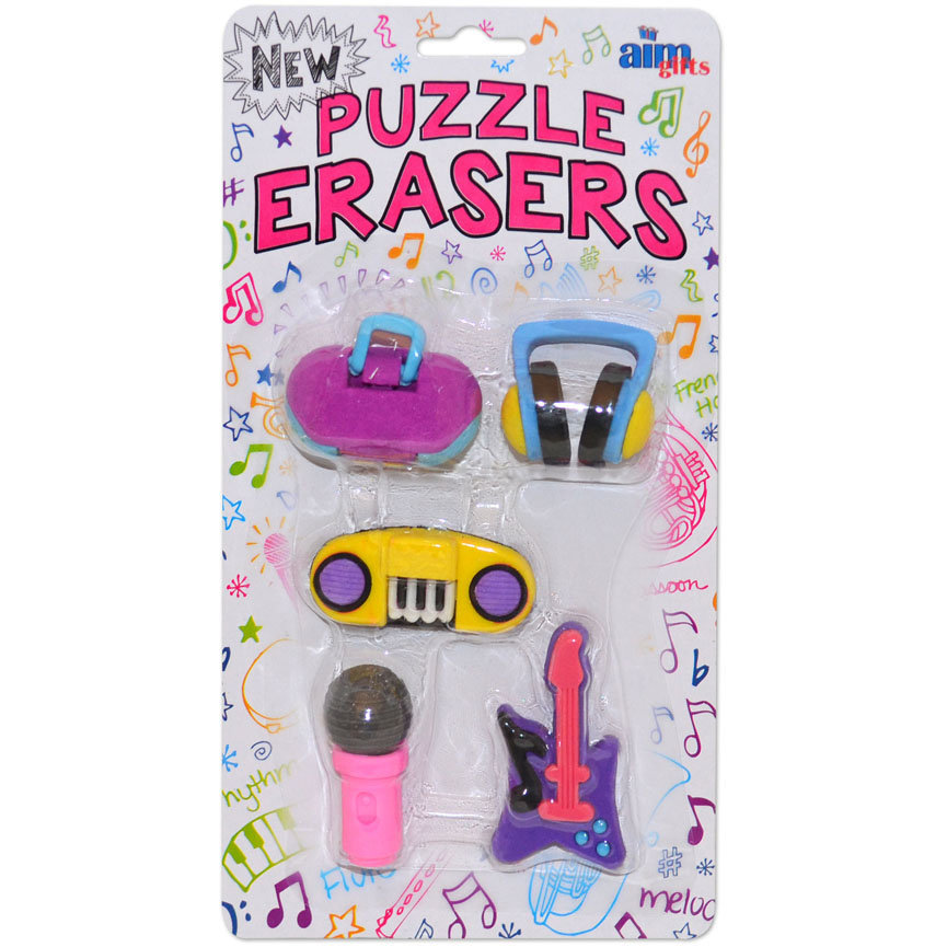 View larger image of Puzzle Erasers