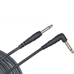D'Addario Classic Series Instrument Cable - Straight to Angle, 10'