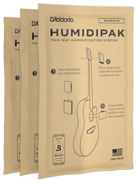 View larger image of D'Addario Humidipak System Replacement Packets - 3 Pack
