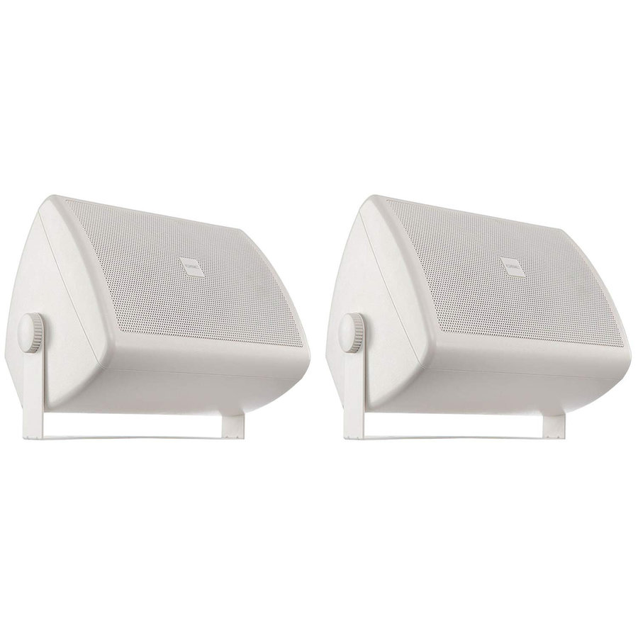 View larger image of QSC AC-S4TW Surface Mount Speaker - White, Pair