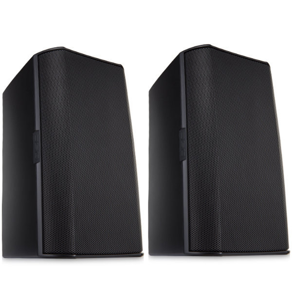 View larger image of QSC AC-S6TB Surface Mount Speaker - Black, Pair