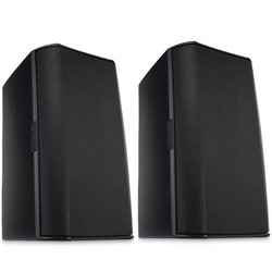 QSC AC-S6TB Surface Mount Speaker - Black, Pair