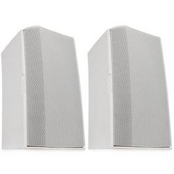 QSC AC-S6TW Surface Mount Speaker - White, Pair